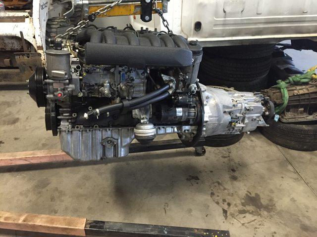 Build and Restoration: 1994 S124 w/ 600hp OM606, 5-speed standard