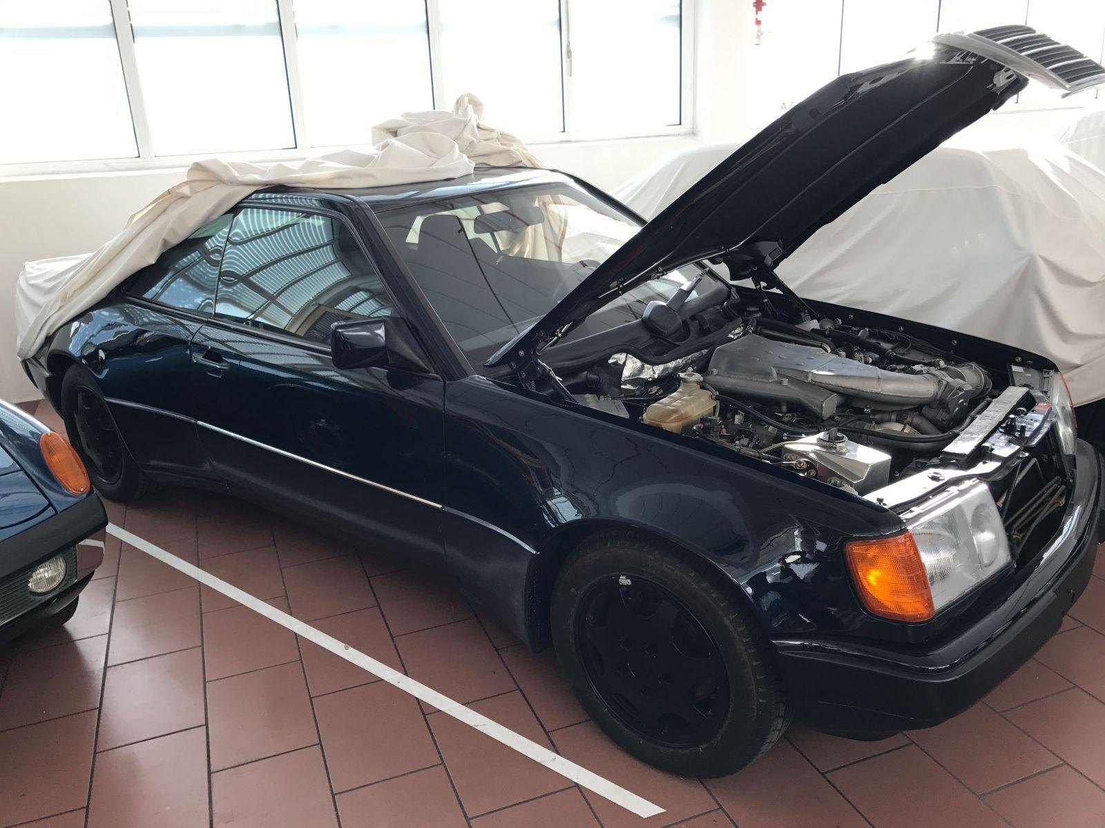 W124 500e Coupe Prototype Uncovered At Porsche
