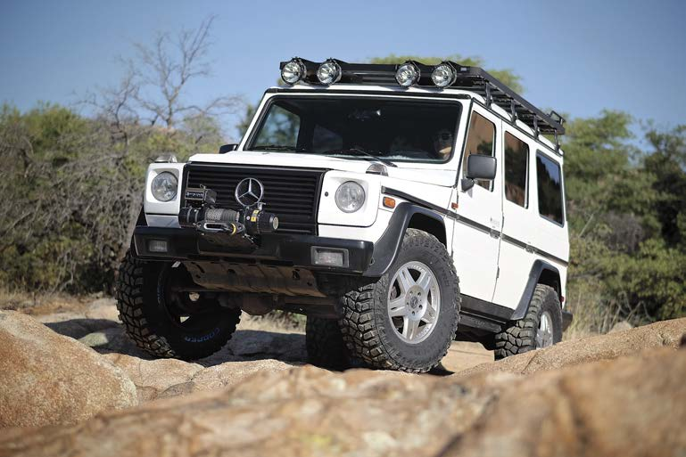 Great article on g36 amg by scott brady for Mercedes benz g36